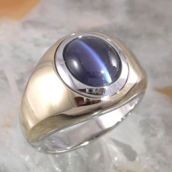 Cat's Eye Alexandrite Ring