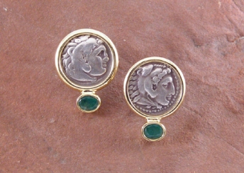 Greek Coins & Emeralds