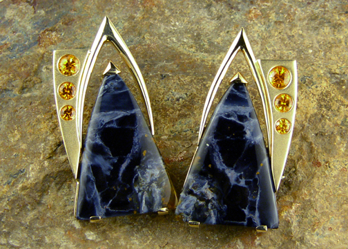 Pietersite Earrings