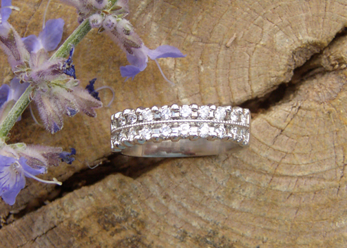 Platinum Bridal 2-Row