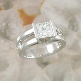 Split Shank Diamond