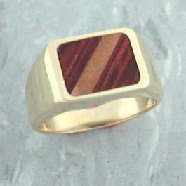Wood-Ivory Inlay